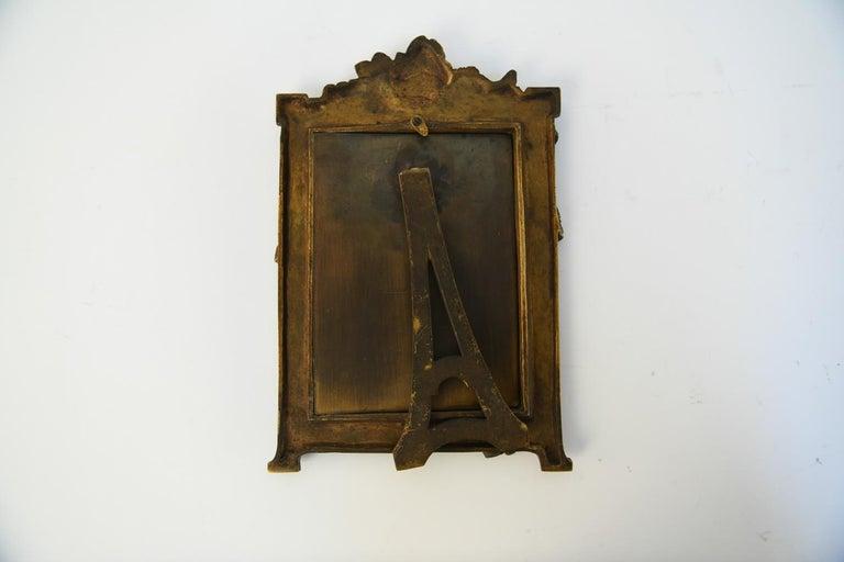Albert Marionnet Bronze Picture Frame For Sale 3