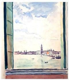 Albert Marquet - Venice Journey - Portfolio of 31 Original Etchings