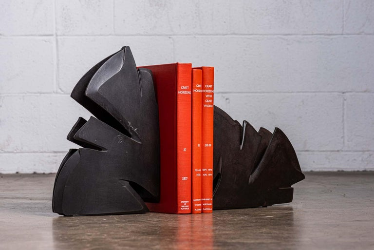 Steel Albert Paley Bookends For Sale