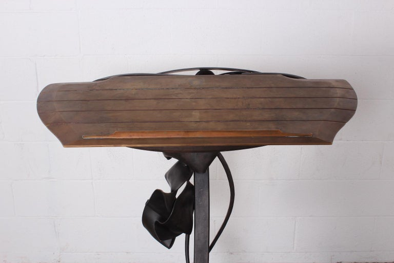 Albert Paley Lectern, 1990 In Good Condition For Sale In Dallas, TX