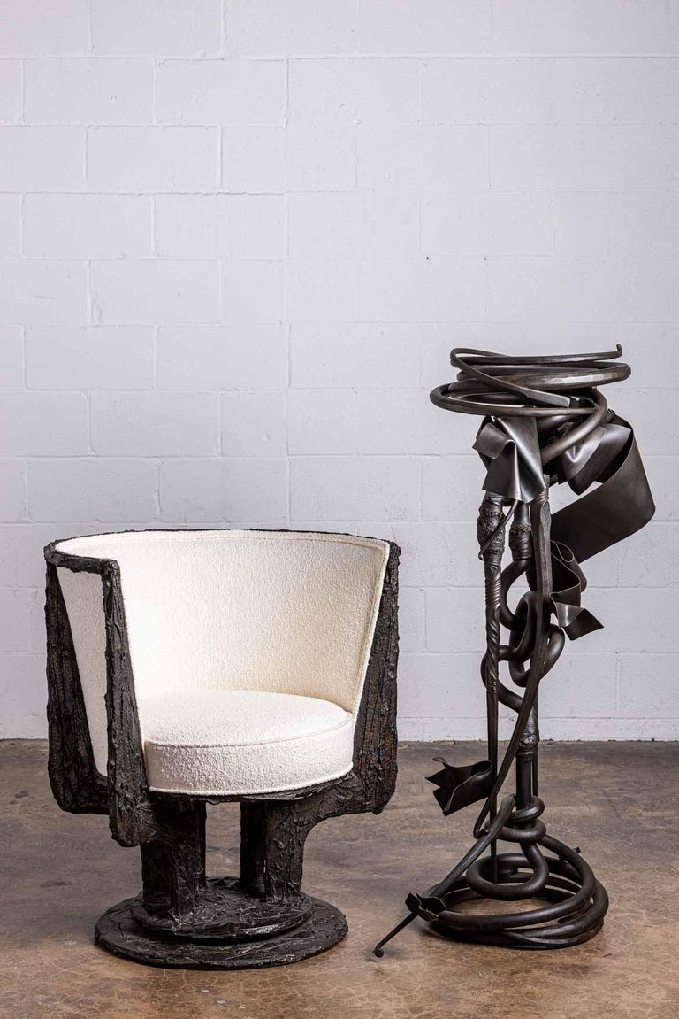 Albert Paley Plant Stand For Sale 9