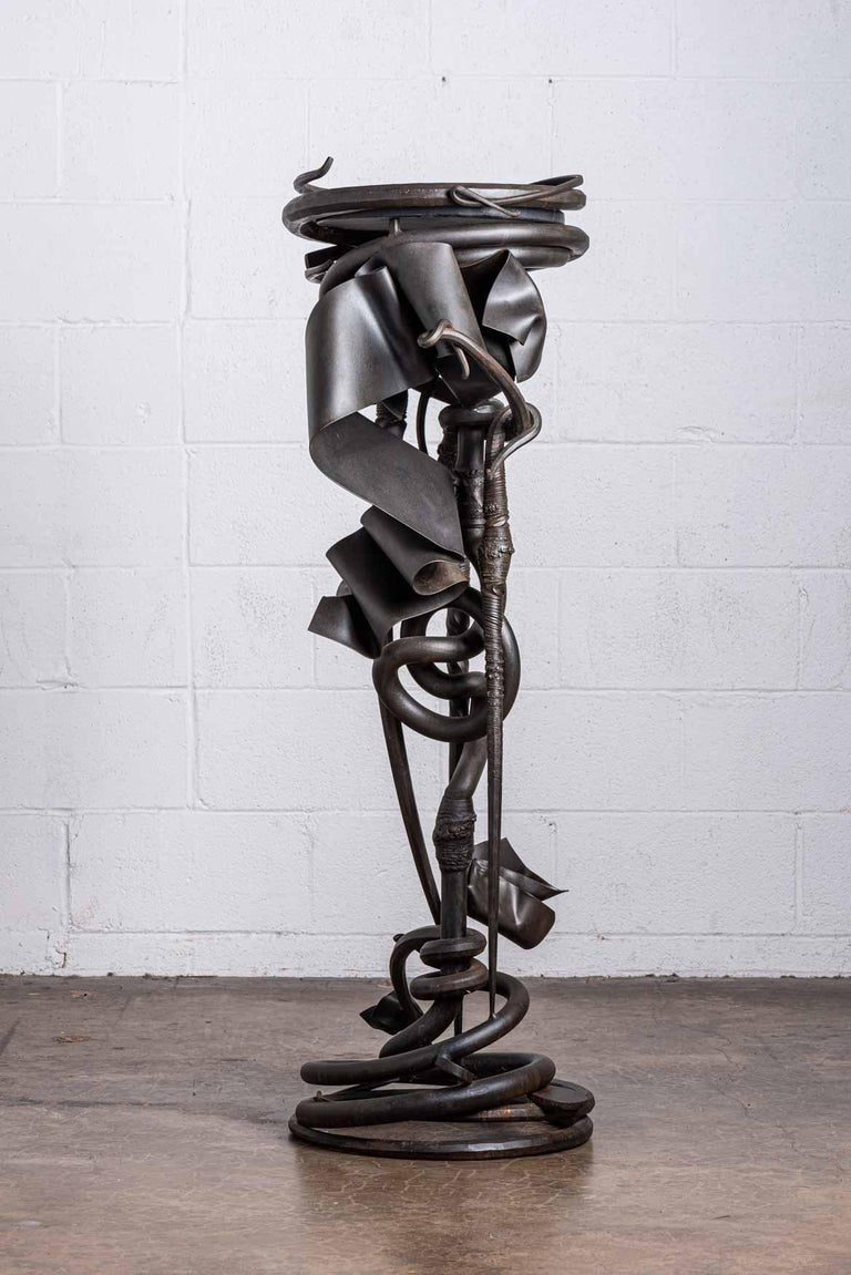 Albert Paley Plant Stand In Good Condition For Sale In Dallas, TX