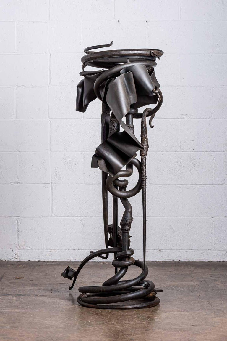 Late 20th Century Albert Paley Plant Stand For Sale