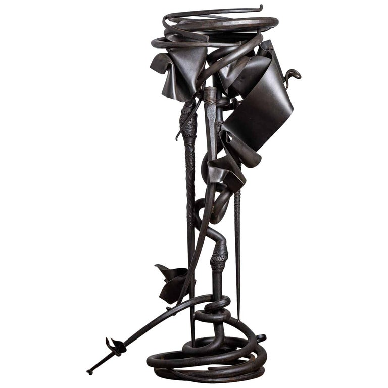 Albert Paley Plant Stand For Sale