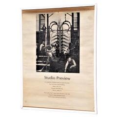 Albert Paley Studio Exhibition Poster, Rochester NY 1980
