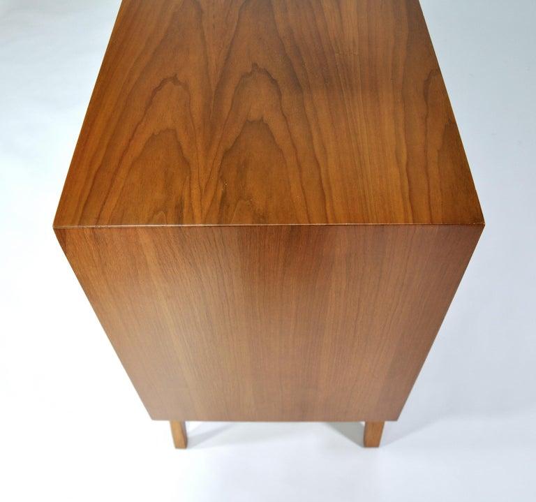 Albert Parvin Diamond Front Walnut Dresser For Sale 13