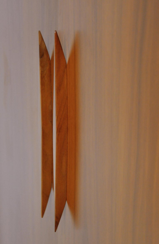 Albert Parvin Diamond Front Walnut Dresser For Sale 2