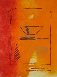 ALBERT RÀFOLS-CASAMADA: Fruites d'estiu - Etching & Aquatint Spanish Abstraction