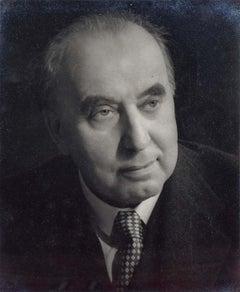 Prof Sir Albert Richardson PRA Architect Portrait photograph c. 1960 Georgian