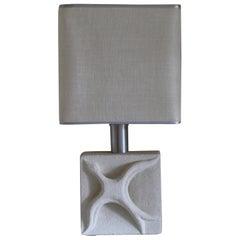 Albert Tormos Limestone Lamp 1970's