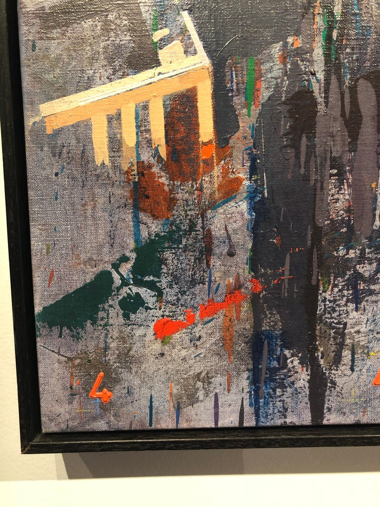 Life - New York City Painting on Canvas For Sale 2