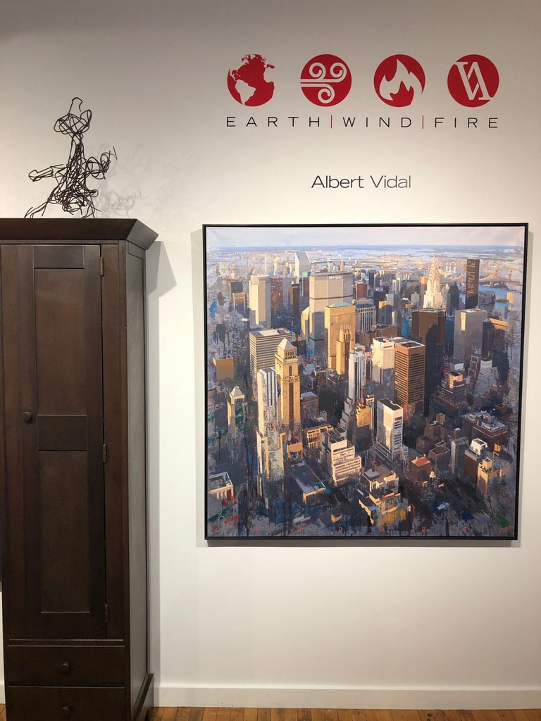 Life - New York City Painting on Canvas For Sale 5