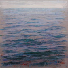 Sea Blue - large oil painting of the Sea