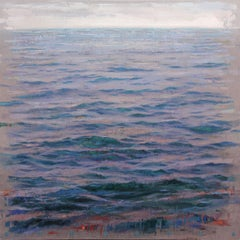 Sea Blue - Large Oil Painting of the Sea by Spanish Painter Albert Vidal