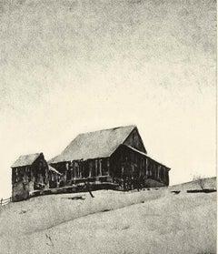 Upper Barn, Winter (a look at the rural landscape of an earlier American era)