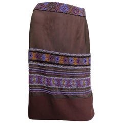 Alberta Ferretti Beaded Skirt