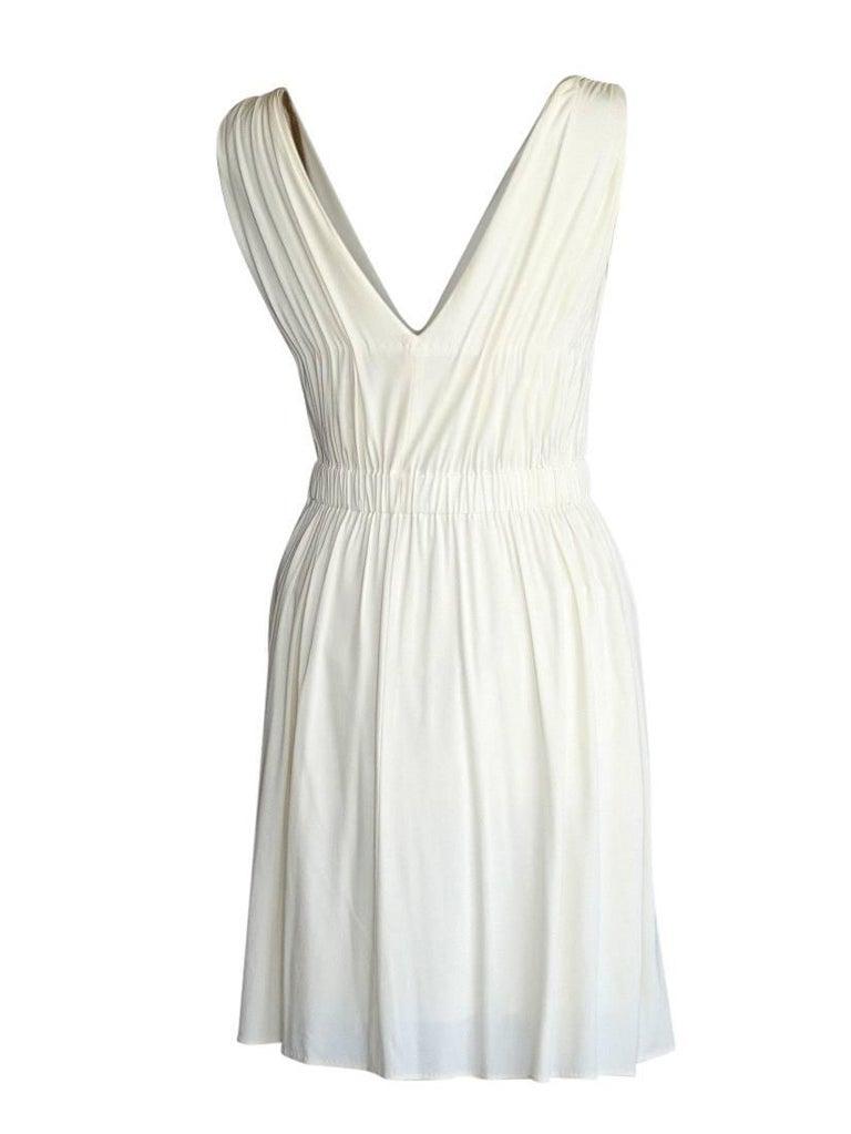 Women's Alberta Ferretti Dress Fine Chain Rich Stone Detail  40 / 4 nwt For Sale
