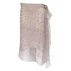 Alberta Ferretti Voile Skirt IT 42
