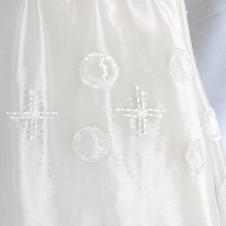 Vintage Wedding Dresses For Sale: Alberta Ferretti White Silk Vintage Wedding Dress, 2000s