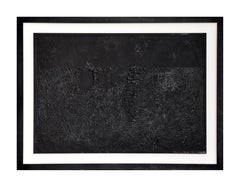 Cretto Nero - Original Etching and Aquatint by Alberto Burri - 1971