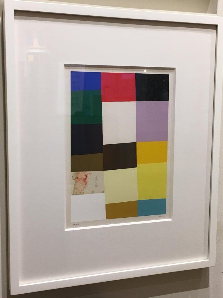 Untitled (Calvesi 47) - Print by Alberto Burri