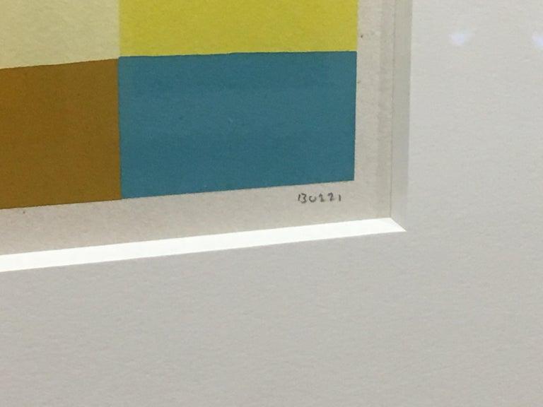 Untitled (Calvesi 47) - Abstract Print by Alberto Burri