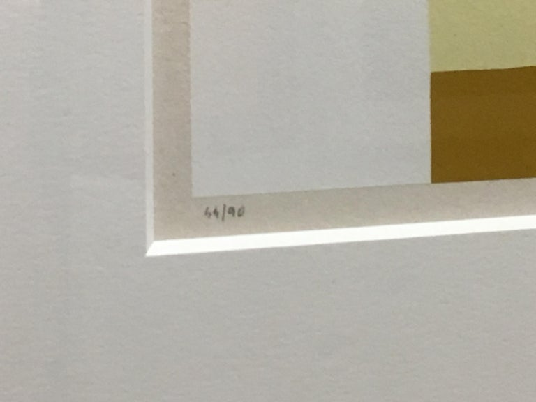 Untitled (Calvesi 47) - Beige Abstract Print by Alberto Burri
