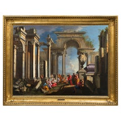 Alberto Carlieri, Painting with Architectural Capriccio