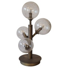 Alberto Donà Mid-Century Modern Crystal Mika One Murano Glass Table Lamp, 1998
