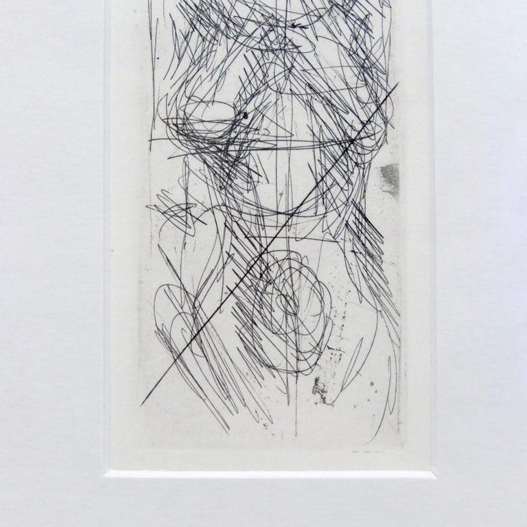 Alberto Giacometti 'Annette de Face' Lithography, 1955 In Good Condition For Sale In Los Angeles, CA