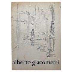 Alberto Giacometti Collector Vintage Art Book, 1965