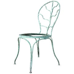 Alberto Giacometti for Jean Michel Frank Wrought Iron Garden Chair