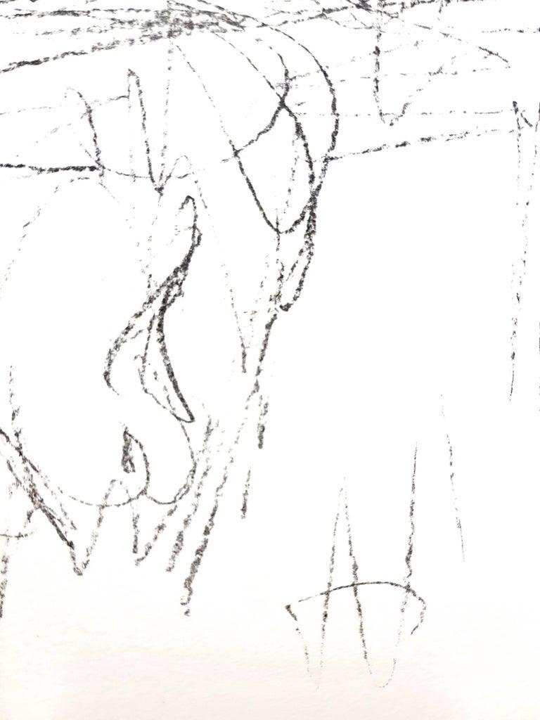 Alberto Giacometti - Composition - Original Lithograph - Modern Print by Alberto Giacometti