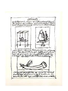 Alberto Giacometti Original Lithograph
