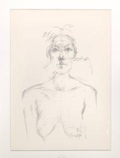 Buste II - Original Lithograph by Alberto Giacometti - 1960