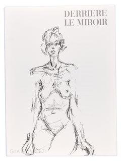Derrière Le Miroir - Original lithograph by Alberto Giacometti - 1961
