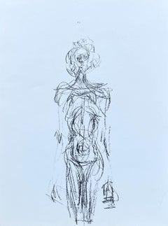 Female Nude - Original Lithograph #Lust154