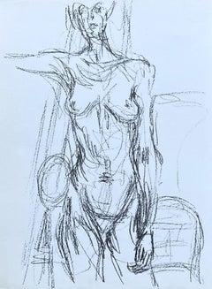Nude - Original Lithograph #Lust161