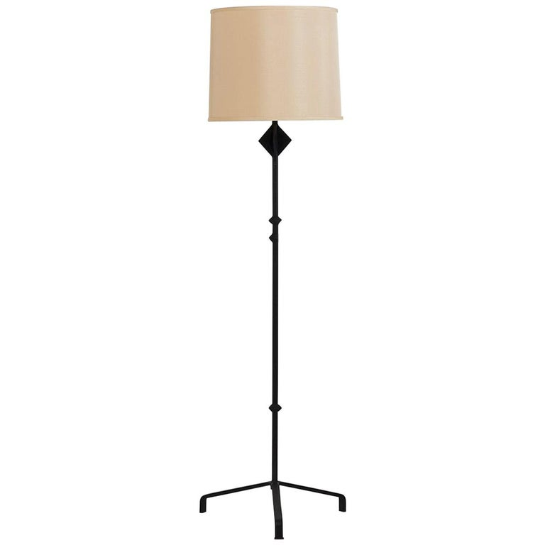 Alberto Giacometti Style Iron Floor Lamp For Sale