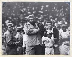 "Alberto Korda ""Fidel Castro playing baseball""  Cuba 1970"