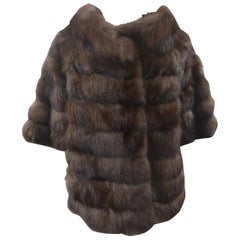 Alberto Leonardi sable brown fur
