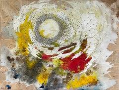 'El Fogonero ' Mixed Media on Canvas Conceptual Painting