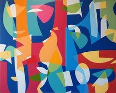 """Alberto Murillo, """"Rainforest"""", Painting on Canvas, 2019"""