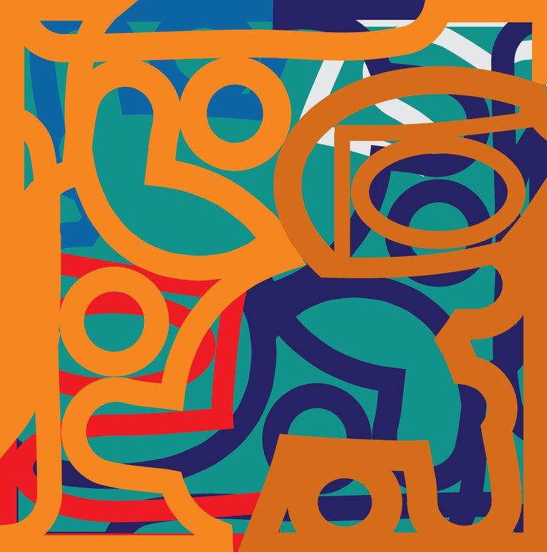 Alberto Murillo Abstract Painting - Orvieto