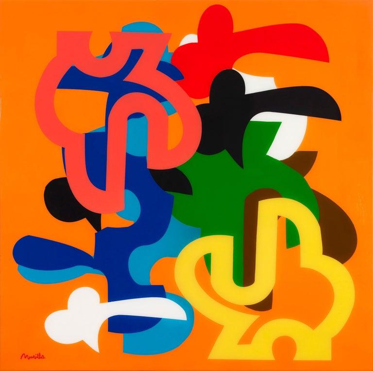 Alberto Murillo Abstract Painting - Santa Fe