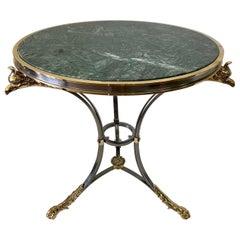 Alberto Orlandi Neoclassical Style Italian Gueridon Table, 1970s