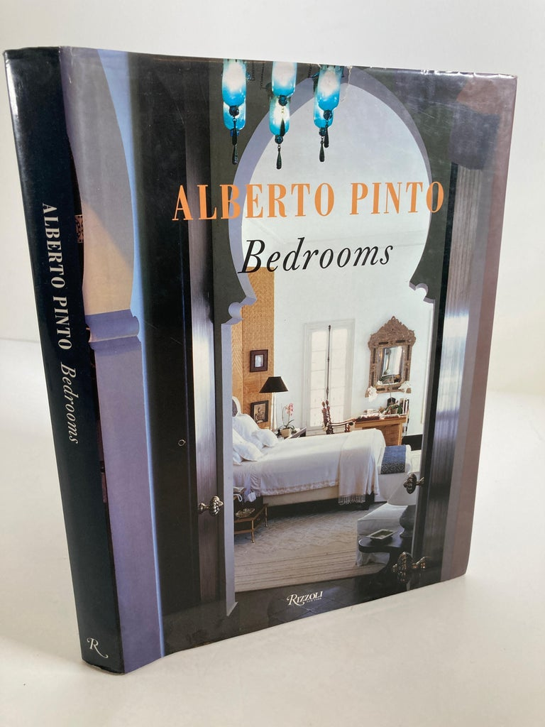 Alberto Pinto Bedrooms Hardcover Book In Good Condition For Sale In North Hollywood, CA