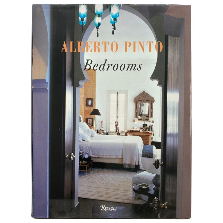 Alberto Pinto Bedrooms Hardcover Book For Sale