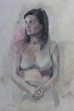 Portrait of Ana seated/ etrato de Ana sentada