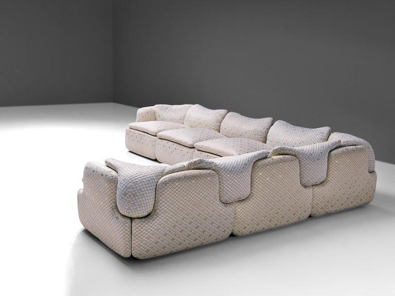 Mid-Century Modern Alberto Rosselli for Saporiti 'Confidential' Corner Sofa For Sale